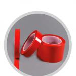 Abdeckband Polyester rot rs100 (extra Klebkraft)