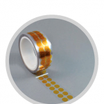 Polyamid Klebepunkte amber (Industrierollen)