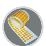 Polyamid Klebepunkte amber