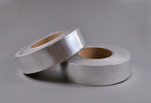 Abdeckband Aluminium mit Trennfolie