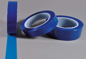 Abdeckband Polyester blau